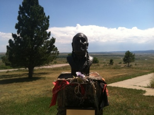 Statue of a Lakota Holy Man, Visionary, Ambassador, Storyteller