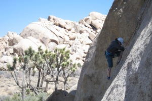 Climbing in Joshua Tree National Park